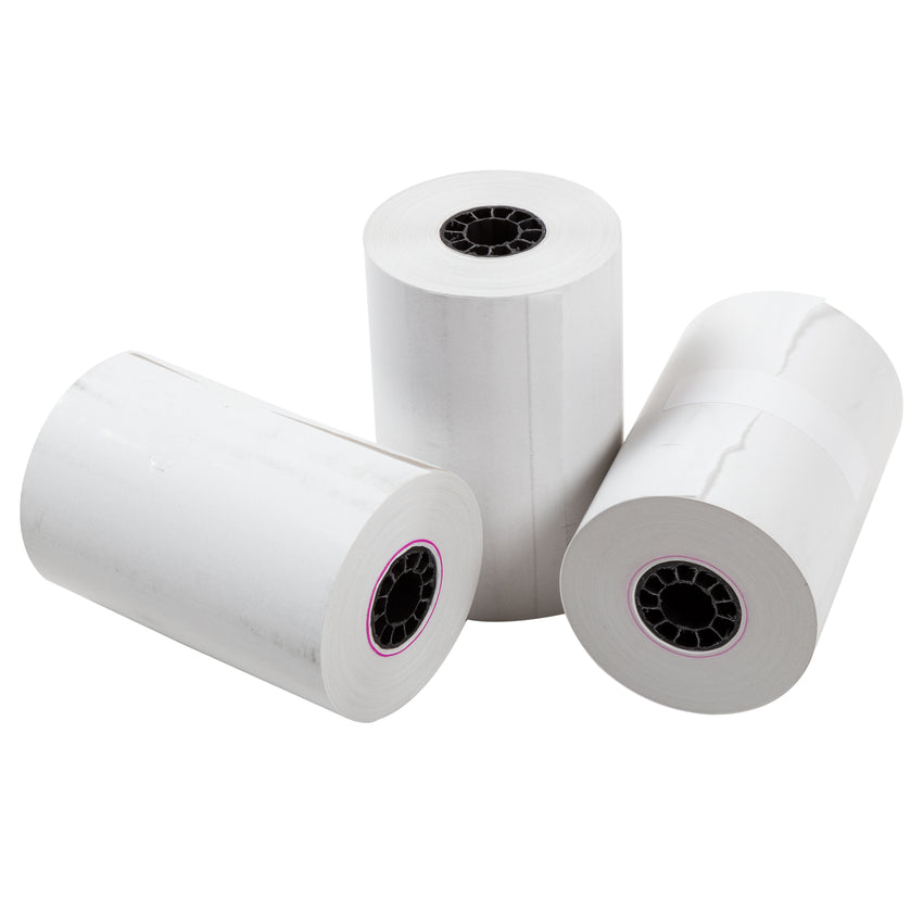 "Thermal Rolls, 3-1/8"" x 150' with 7/16"" ID Core, Three Rolls"