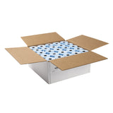 "Blue Thermal Rolls, 3-1/8"" x 230' with 7/16"" ID Core, Open Case"