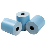 "Blue Thermal Rolls, 3-1/8"" x 230' with 7/16"" ID Core, Three Rolls"