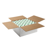 "Green Thermal Rolls, 3-1/8"" x 230' with 7/16"" ID Core, Open Case"