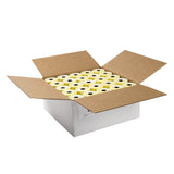 "Yellow Thermal Rolls, 3-1/8"" x 230' with 7/16"" ID Core, Open Case"