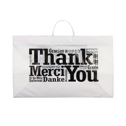 RIGID HANDLED MULTILINGUAL SHOPPING BAG 19