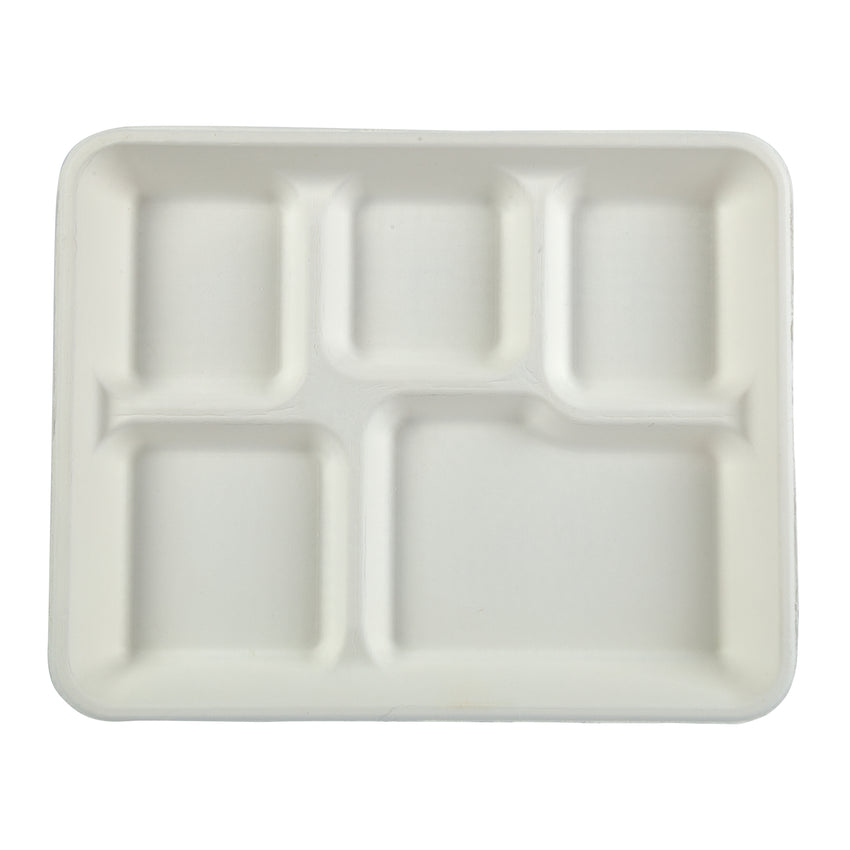 5 Compartment Value Trays, Overhead View