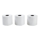 "POS Tray, 2.25"" x 130' 1 Ply Thermal Register Rolls, Photo of Three Rolls Side By Side"