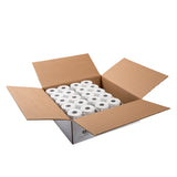 "POS Tray, 2.25"" x 130' 1 Ply Thermal Register Rolls, Open Case"