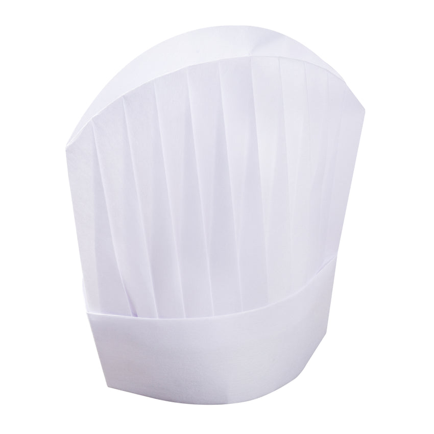 """LE TOQUE"" 12"" VISCOSE PLEATED CHEF HAT"