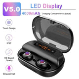 (Last Day 50% OFF!!!)2019 Latest Style Touch Control Wireless Earbuds - HiSheep