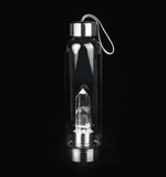 Amazing Natural Crystal Quartz Gemstone Water Bottle - Free shipping! - HiSheep
