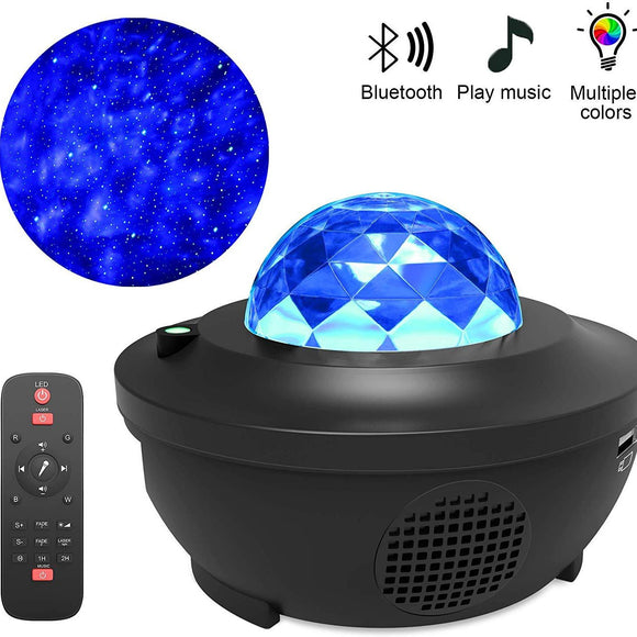 Multi-mode Star Projector with Bluetooth Speaker Function - HiSheep