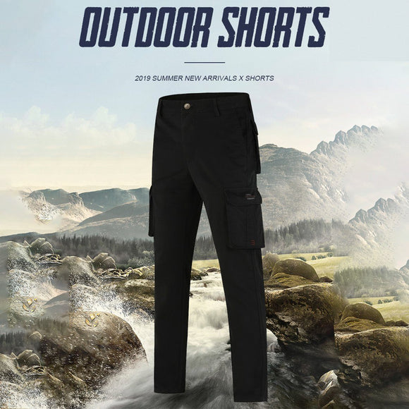 2019 Autumn Elastic Multi-Pocket  Straight Pants - HiSheep