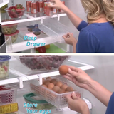 Drawers Organizer In The Fridge, Extra Storage - HiSheep