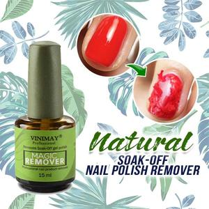 Natural Soak-Off Nail Polish Remover - HiSheep