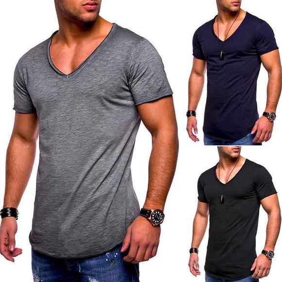 Basic V-Neck T-shirt ( Buy two free shipping! ) - HiSheep