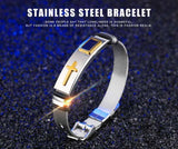 Stainless Steel Cross Bracelet - ( Buy two free shipping! ) - HiSheep