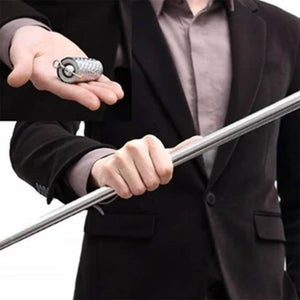 120CM MAGIC TRICK CANE – PORTABLE MARTIAL ARTS METAL STAFF- Buy 2 Free Shipping! - HiSheep