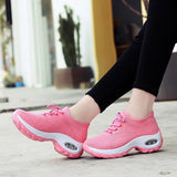 Women's Flying Woven Non- slip Breathable Comfortable Shoes - HiSheep
