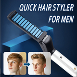 Men's All in One Ceramic Iron Styling Comb- Free Shipping! - HiSheep