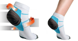 Ankle Compression Plantar Socks 2 Pacs - HiSheep
