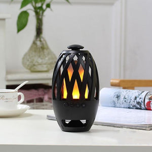 Wireless Bluetooth Speaker Flame Lamp Free Shipping - HiSheep