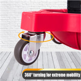 Flooring Knee Silicone pads With Wheels - free shipping - HiSheep