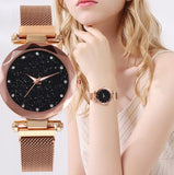 Magnetic Colorful Starry Luxury Women Watch Perfect Gift - HiSheep