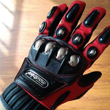 FULL FINGER MOTORCYCLE STEEL SHELL GLOVES - HiSheep