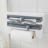 4 in 1 Kitchen Wrap Dispenser ( Tinfoil, Plastic, Paper & More ) - HiSheep