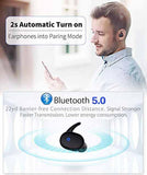 Private Mode Wireless Mini Bluetooth Headset - Waterproof Touch Sports Headphones - HiSheep