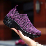 Women's Breathable Air Cushion Leisure Shock Sneakers - HiSheep