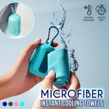 Microfiber Instant Cooling Towel Keychain - HiSheep