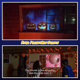 Animated Festive Window Projector For Halloween & Christmas - HiSheep