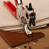 HOUSEHOLD REVOLVING LEATHER HOLE PUNCHER - HiSheep