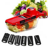 Chef Slicer 6-In-1 Vegetable Cutter - HiSheep