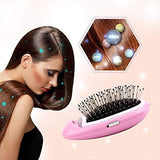 Portable Electric Ion Hair Brush - HiSheep