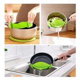 Silicone Kitchen Clip On Pot Strainer/Drainer (BUY 2 GET 1 FREE) - HiSheep