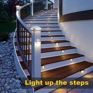 Waterproof Outdoor Solar Deck Lights-Buy 24PCS FREE SHIPPING! - HiSheep