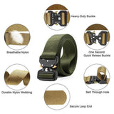 Military Style Tactical Nylon Belt(Buy 2 Free Shipping) - HiSheep
