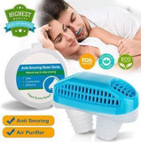 2-in-1 Anti-Snore Device and Air Purifier: Sleep Aid-Buy 2 Worldwide Free Shipping - HiSheep