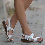 Women Casual Slingback Wedge Sandals - HiSheep