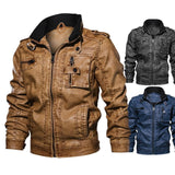 2019  Autumn New discount High Quality Motorcycle Pilot Jackets Men Outwear - HiSheep