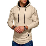 Fashion Light Knitted New Style Patchwork Hoodie - HiSheep