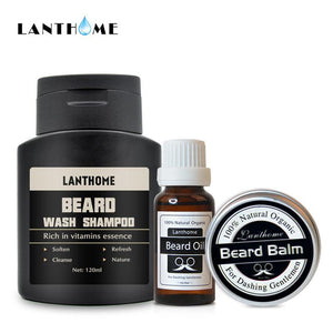 Lanthome Beard Washing & Gromming Set for Men's Care - HiSheep