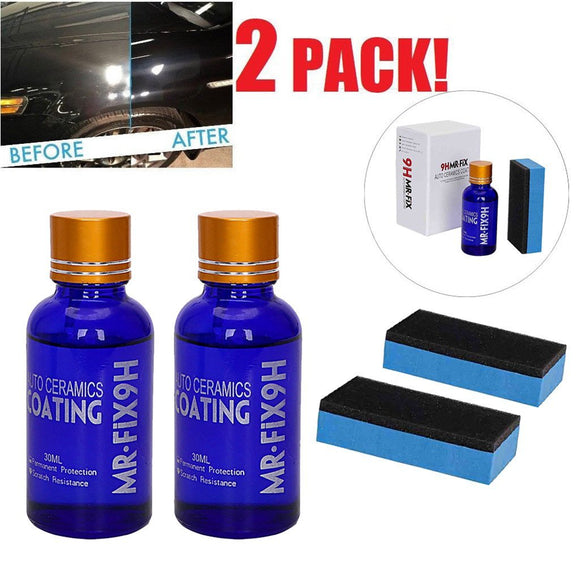 2PCS 9H Ceramic Car Coating Set - HiSheep