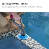 Multifunction Cordless Scrubber Cleaning Brush - HiSheep