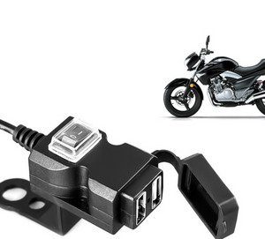 Motorcycle Dual USB 3.0 Charger - HiSheep