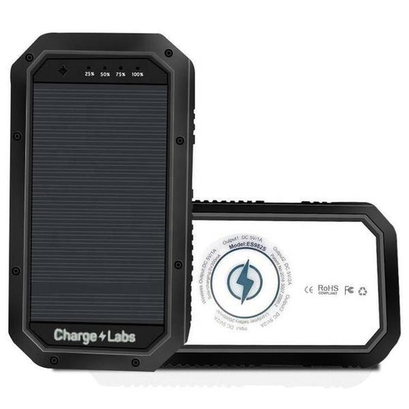 The 20000 mAh Wireless Waterproof Solar Power Bank For Android, IOS - HiSheep