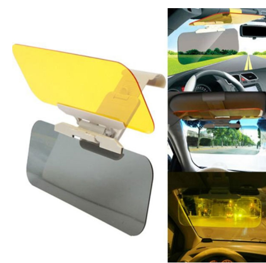2 in 1 Anti-Glare Sun Visor Night & Day - HiSheep
