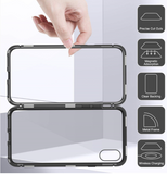 Ultra Magnetic Phone Case / Cover - Metal Frame Super Absorption For iphone And Samsung Phones - HiSheep