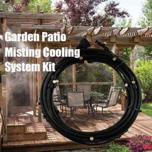 Garden Patio Misting Cooling System Kit - HiSheep