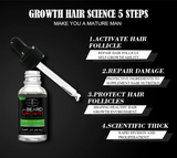 Beard Growth Oil (One Course of Treatment for Only 49.99 ) - HiSheep